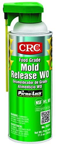CRC Food Grade Mold Release, 11.5 oz Aerosol Can, Clear ()