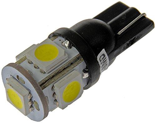 Dorman 194W-SMD White LED Side Marker Light Bulb, (Pack of 2)