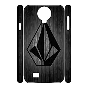 Classic Case Volcom pattern design For Samsung Galaxy S4 I9500(3D) Phone Case