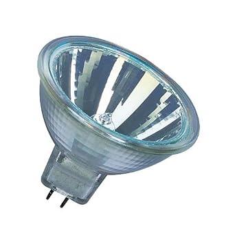 10er-Pack 12 Volt GU5.3-Sockel Warmwei/ß 20 Watt 2800K dimmbar 36 /° Abstrahlungswinkel Osram DecoStar Halogen-Reflektor