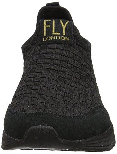 Fly London Womens Sati949fly Fashion Sneaker Nero