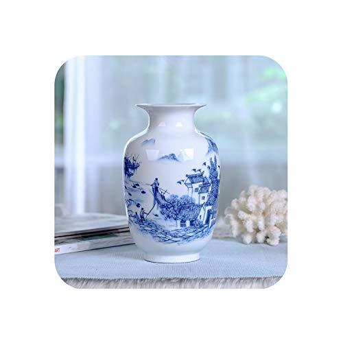 Chinese Style Vase Classical Porcelain Kaolin Flower Vase Home Decor Handmade Shining Famille Rose Vases,11