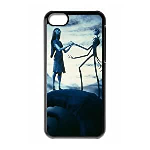 Nightmare Before Christmas iPhone 5c Cell Phone Case Black ubyo