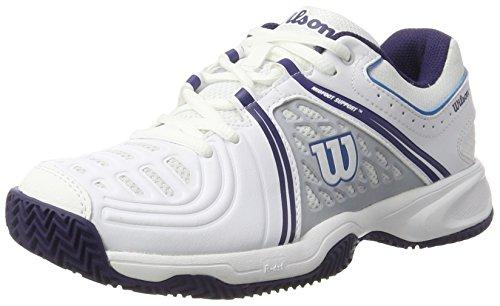 Wilson 97512295, Scarpe da Tennis Donna, Multicolore (White / Pearl Blue / Astral Aura), 37 2/3 EU