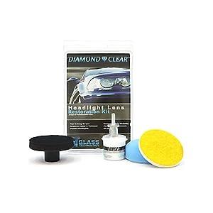 Diamond Clear Headlight Repair Kit - Diy