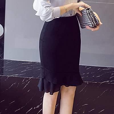 XSY Tallas Grandes Faldas Rojas para Mujer Verano de Cintura Alta ...