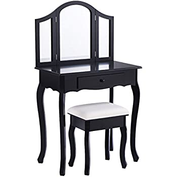 black vanity table coaster vanity table set in black kitchen 28562