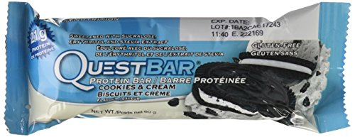: Quest Protein Bar Cookie & Cream, 2.12 Ounce