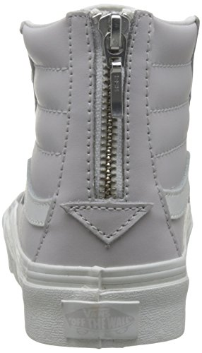 Alte Vans Chime UA Wind Blanc Scarpe Blanc da Donna Zip De Hi Sk8 Leather Grigio Ginnastica Slim 8HqOr8x