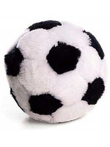 Ethical Plush Soccer Ball Dog Toy, 4-1/2-Inch ()