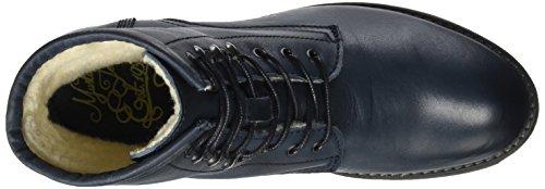 Mustang Damen 2853-604-820 Stiefel Blau (Navy)