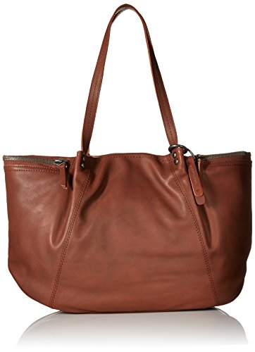 Lucky Brand Kate Tote Bag, Brandy, One Size