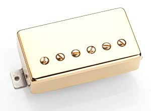 Seymour Duncan SH-PG 1B Pearly Gates (bridge position) Gold cover