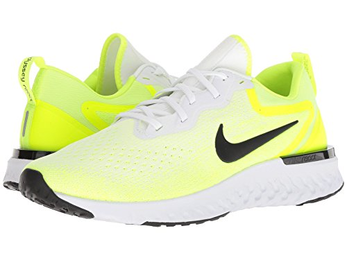 [NIKE(ナイキ)] メンズランニングシューズ?スニーカー?靴 Odyssey React White/Black/Volt/Bright Crimson 6.5 (24.5cm) D - Medium