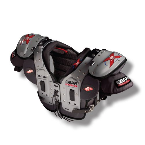 Pro-Tec Gear X2 AIR X-19F QB/DB/RB/WR Football Shoulder Pads, Medium