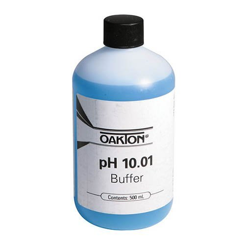 Oakton Buffer Solution, pH, 10.01, 500 mL