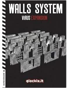 Inmedia GIO0041C - Juego de Mesa (Madera), diseño de Paredes Virus, Color Negro: Amazon.es: Juguetes y juegos