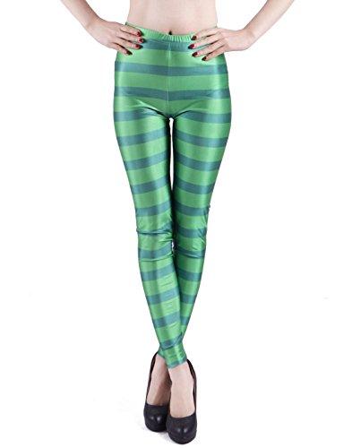 Women's Leggings Graphic Print Tights Fun Digital Design Holiday Elastic Pants -
