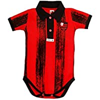 38d0bd935f Rêve D or Sport - Body Polo Listras Verticais Flamengo Menino