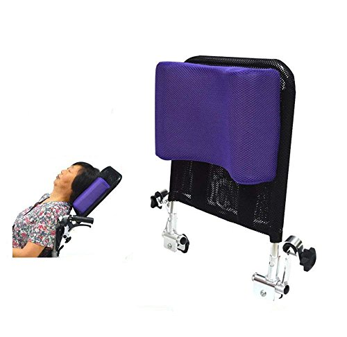 Amazon.com: Wheelchair Headrest Neck Support Comfortable Seat Back Cushion Pillow Adjustable Padding for Adults Portable Universal Wheelchair Accessories ...