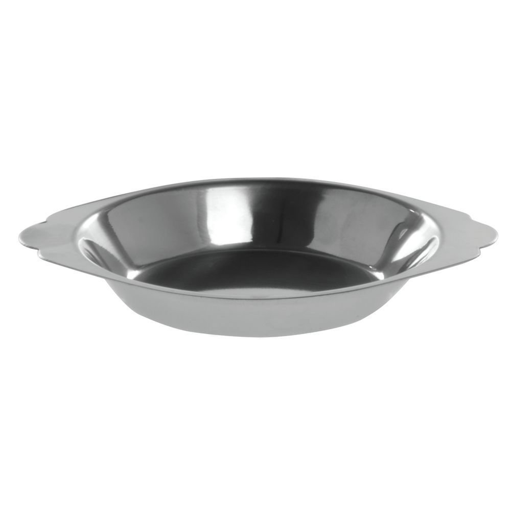 HUBERT Stainless Steel Au Gratin Dish 6 Ounce Round
