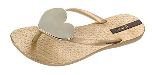 Damen Maxi Gold Zehentrenner Ii Ipanema Fem Fashion 15wdH1q
