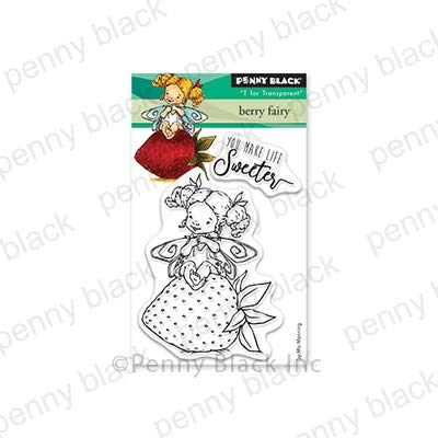 Penny Black Clear Stamp Set - Mini Berry Fairy