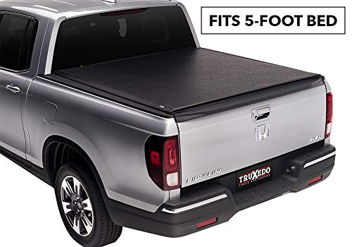 (TruXedo Lo Pro Soft Roll-up Truck Bed Tonneau Cover | 520601 | fits 05-16 Honda Ridgeline 4'8
