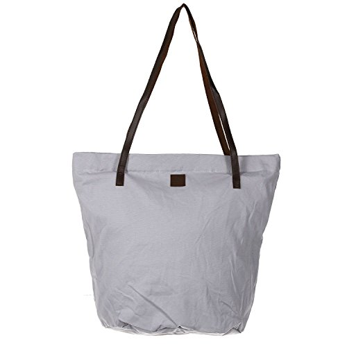 Antonio Damen Shopper Canvas light grey