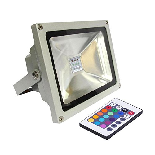 Proyector Led de exterior MICROLED, 30W, RGB, RGB: Amazon.es ...