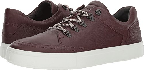 ECCO Men's Kyle Premium Fashion Sneaker, Fudge, 41 EU/7-7.5 M US - Shoes Fudge
