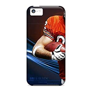 Protection Case For Iphone 5c / Case Cover For Iphone(chicago Bears)