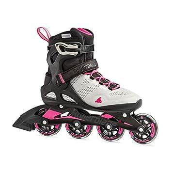 Rollerblade 2019 - Patines en línea para Paseo y Fitness, Color Gris y Rosa: Amazon.es: Deportes y aire libre