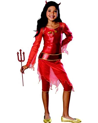 Kids Halloween Costume Girl Bratz She-Devil Outfit S Girls Small (3-4  sc 1 st  Amazon.com & Amazon.com: Kids Halloween Costume Girl Bratz She-Devil Outfit S ...