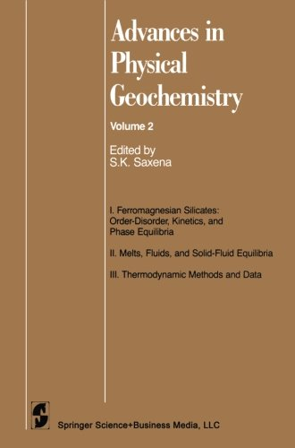 Advances in Physical Geochemistry (Volume 2)