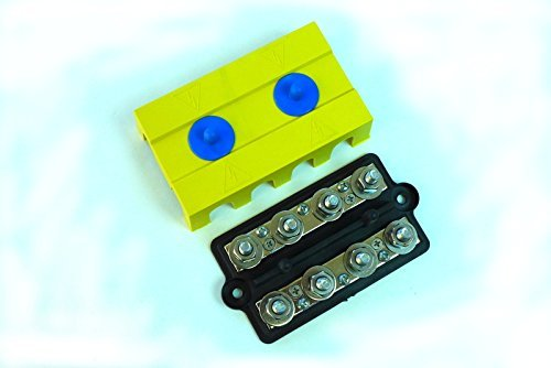 BUSBARS – Dual 4-Post Power Distribution Block – 5/16'' & 5/16''