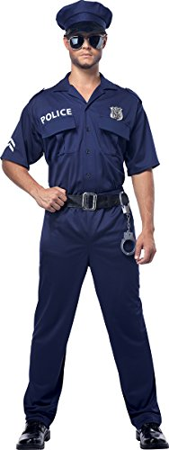 California Costumes Police Officer Adult Costume, Multicoloured, Large -