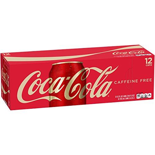 Caffeine Free Coca Cola 12 Pack