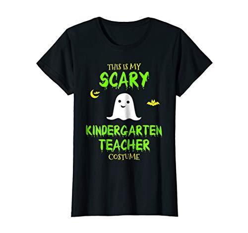 Womens Scary Kindergarten Teacher Costume Halloween T-Shirt Large Black