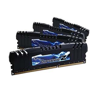 G.Skill F3-17000CL9Q-16GBZH - Kit de memoria RAM (4 x 4 GB, DDR3, 2133 MHz, CL9)
