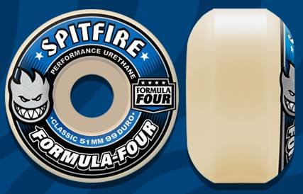 行列気づく取得SPITFIRE FORMULA FOUR 99D CLASSIC WHITE 54mm