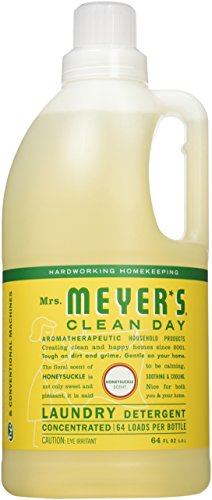 Mrs. Meyer's Clean Day Laundry Detergent, Honeysuckle, 64 fl oz