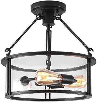 Maxax Semi Flush Mount Ceiling Light Lighting