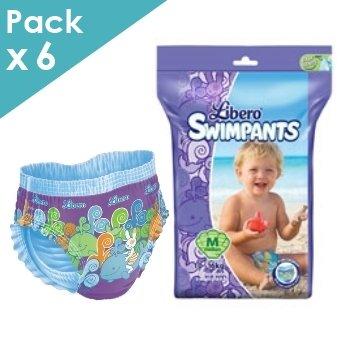Libero - SwimPants Medium - 10 à 16 kg - Carton de 36 maillots de bain jetables 32123