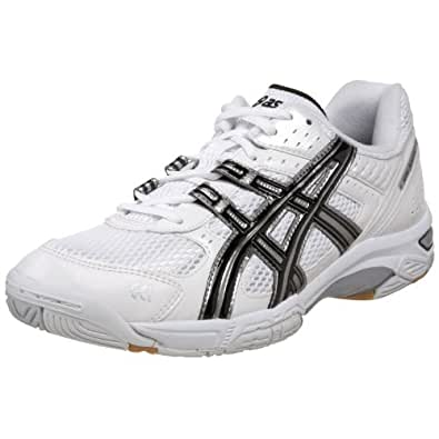 ASICS Men's GEL-Rocket 5 Volleyball Shoe,White/Black/White,6 M US