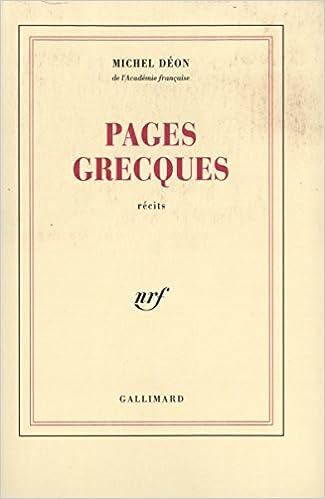 Lire Pages grecques pdf