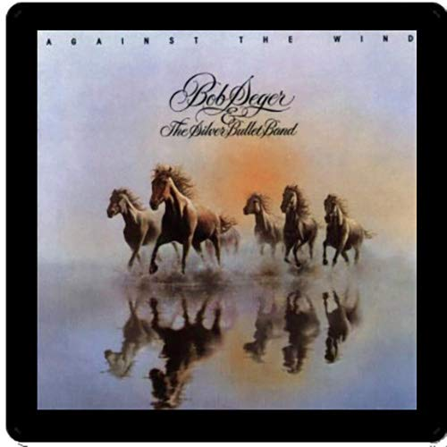 4 Different Album Covers Reproduced on Soft Pliable Coasters Bob Seger Collectible Coaster Gift Set #1 ~