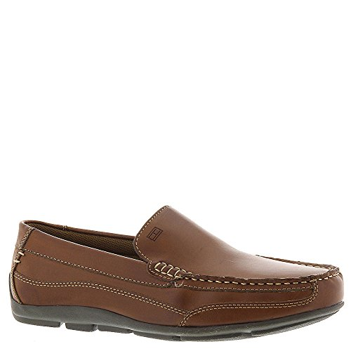 Tommy Hilfiger Men's Dathan Driving Style Loafer, Light Brow