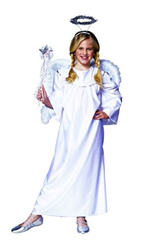 Heavenly Devil Child Costume (OvedcRay White Heavenly Angel Girl Costume Religious Bible Child Cherub Costumes)