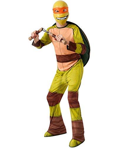 TMNT Michelangelo Halloween Costume Child Boys L Teenage Mutant Ninja Turtles]()